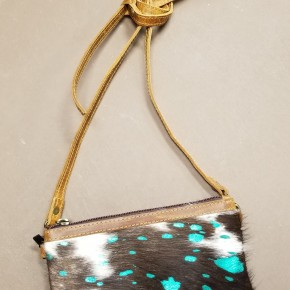 AD Hair On Hide Small Crossbody