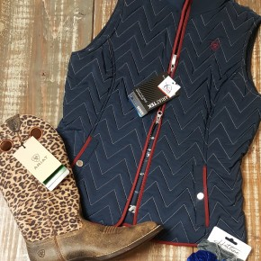 Ariat Women's  Ashley Full Zip Vest