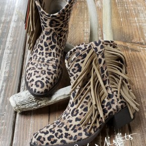 Ariat Youth Girls Leopard Duchess