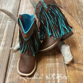Candace Toddler Fringe Boot