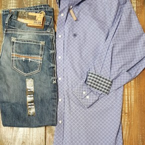 Ariat Men's Wrinkle Free Valtin Classic Fit Shirt