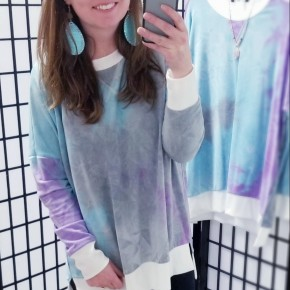 Purple & Blue Tie Dye