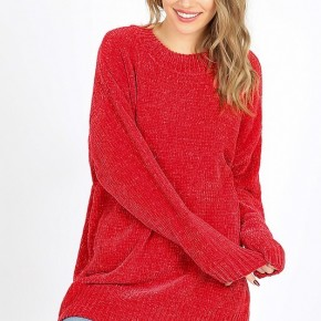 Oh My Chenille Sweater CURVY