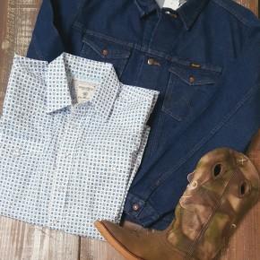 Wrangler Cowboy Cut Unlined Denim Jacket