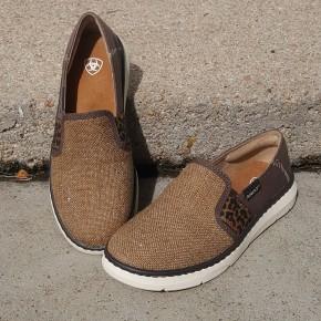 Ariat Women's Metallic Burlap Ryder Shoe