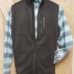 Ariat Men's Dark Brew Caldwell Zip Vest