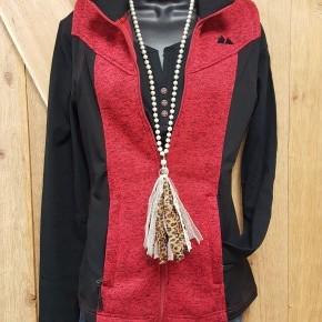 Powder River Women's  Heather Red & Black Vest