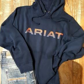 Ariat Men's Navy Graphic Hoodie