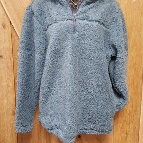 1/4 Zip Solid  Sherpa Pullover