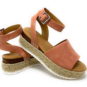 Single Strap Espadrilles | Tan