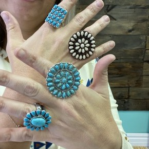 Turquoise Rings *Final Sale*