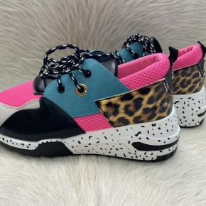 Pink, Blue and Leopard | Sizes 6-10 *Final Sale*