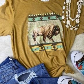 Buffalo Roam Tee | Small to 2X