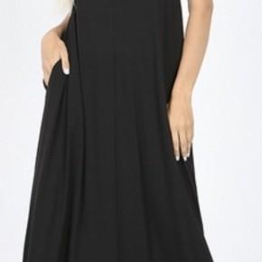 Perfect Maxi Dress, Black