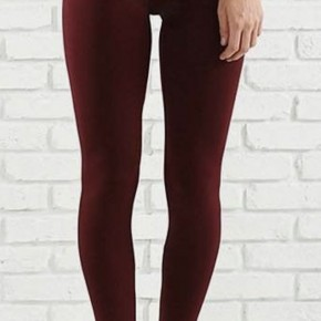 Seamless Leggings, Burgundy