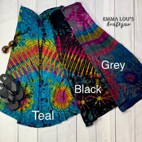 Long One Size Tie Dye Skirt