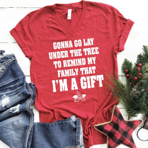 Christmas Graphic I am a Gift