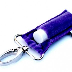 LippyClip Velvet Lip Balm Holder