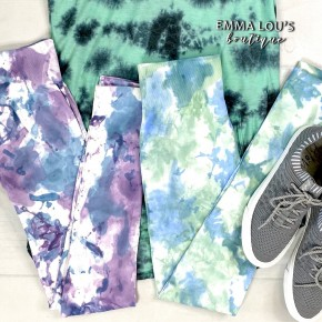 Blossom Tie Dye Leggings