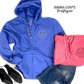 Be Kind Emma Lous Zip Hoodie Long Sleeve