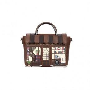 Vendula Book Shop Coffee Vanity Bag