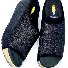 Volatile Festina Black Metallic Slide