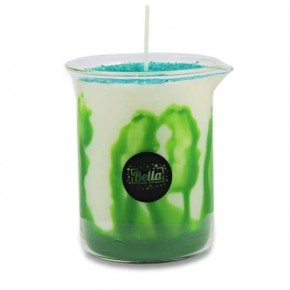 Bella Candle Factory Glitter Lab Green