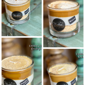 Bella Candle Factory Dulce de Leche Drip Dessert Soy Candle