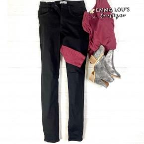 Judy Blue Black High Waist Skinny Jean