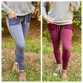 French Terry Mineral Washed Leggings