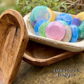 Hand Carved Small Wooden Dish