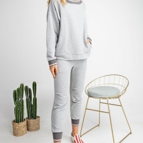 Easel Game Plan Terry Knit Jogger Top/Pants
