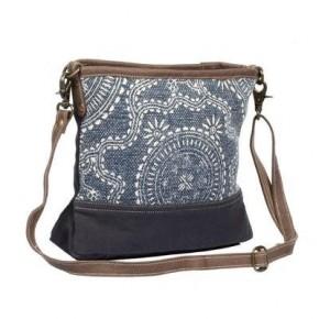 Myra Navy Kilim Shoulder Bag