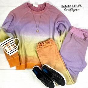 Ombré Jogger Outfit Set