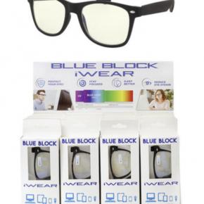 Blue Block Soft Finish Spring Hinge Glasses