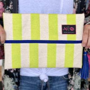 Cabana Neon Make Up Junkie Bags