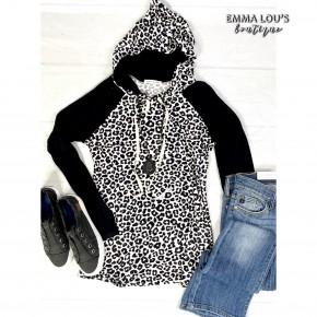 Cheetah Print Hoodie