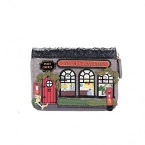 Vendula Post Office Small Ziparound Wallet