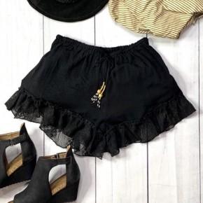 POL Flouncy Lace Trim Shorts *Final Sale*