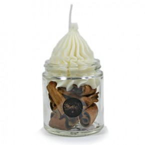 Bella Candle Factory ATOMIC CINNAMON Soy Jar Candle