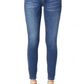Judy Blue Mid Rise Handsand Skinny Jeans