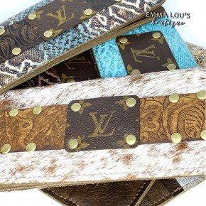 Keep It Gypsy LV Luxe Check Book Cover