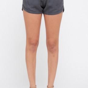 Belted Pocket Tencel Shorts