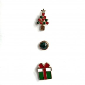 Holly Jolly Stud Set