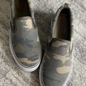 Comfy Camo Slide on Sneakers