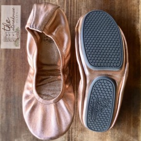 Rose Gold Storehouse Flats
