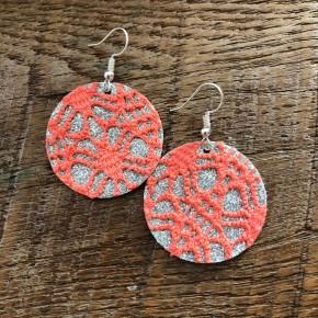 Queen Coral Earrings