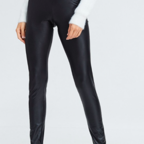 Black Faux Leather Leggings *Final Sale*