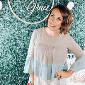 Fall Colorblock Dress