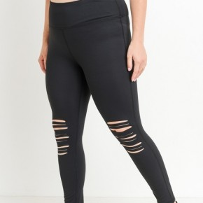 #Extra Knee Cut out Leggings